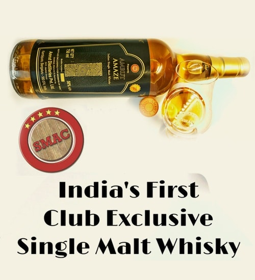 Make way for India's first Limited Edition and Club Exclusive Whisky.